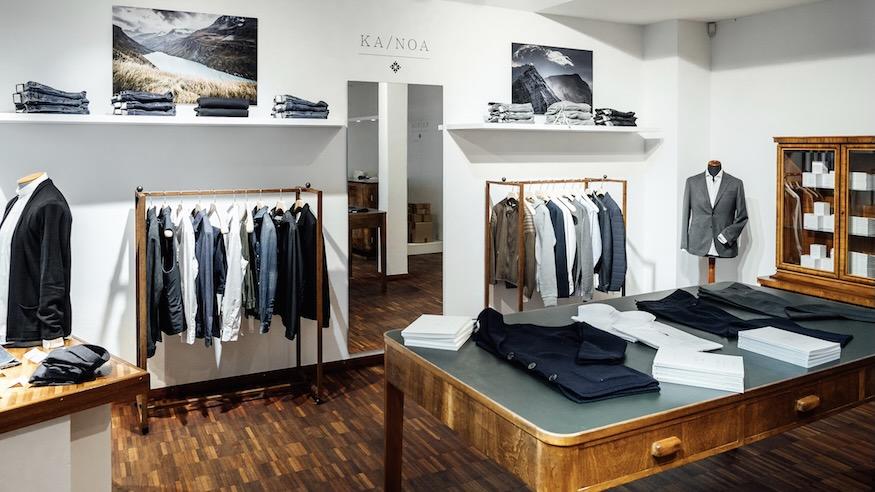 Now Open: KA/NOA boutique in Zurich, Talstrasse 20 – Men's Slow Wear