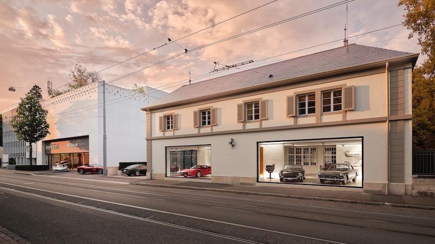 Ferrari Opens New Classiche Showroom at Niki Hasler in Basel